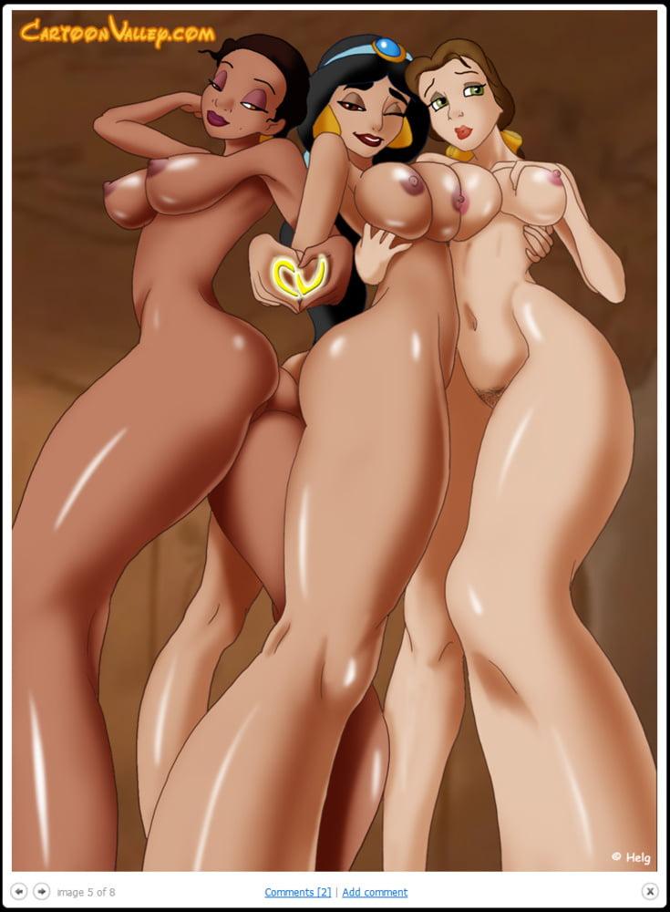 Real Disney Princess Naked