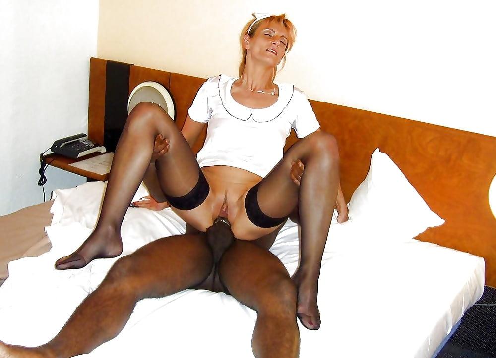 Interracial Haengetitten Leggings Ficksahne