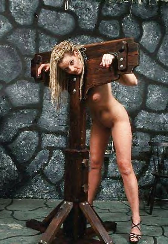 Sex and pillory — photo 13