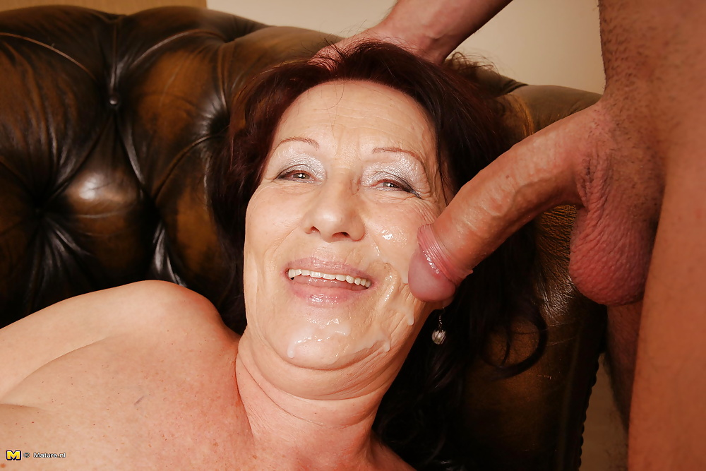 Mature facial and milf porn pictures