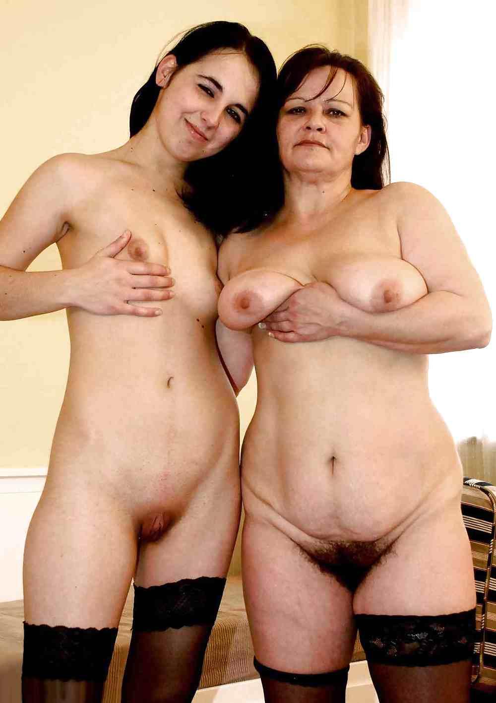 Spanish mature and daughter