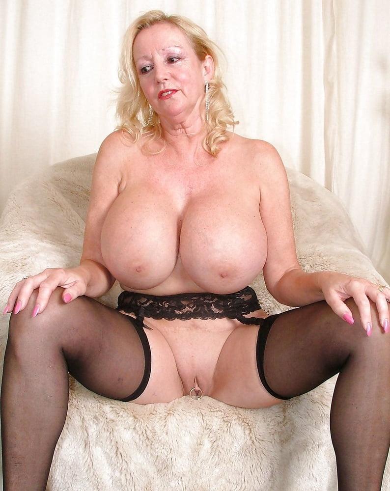 Hot grandma big boobs
