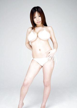 white bikini miyabi Issiki