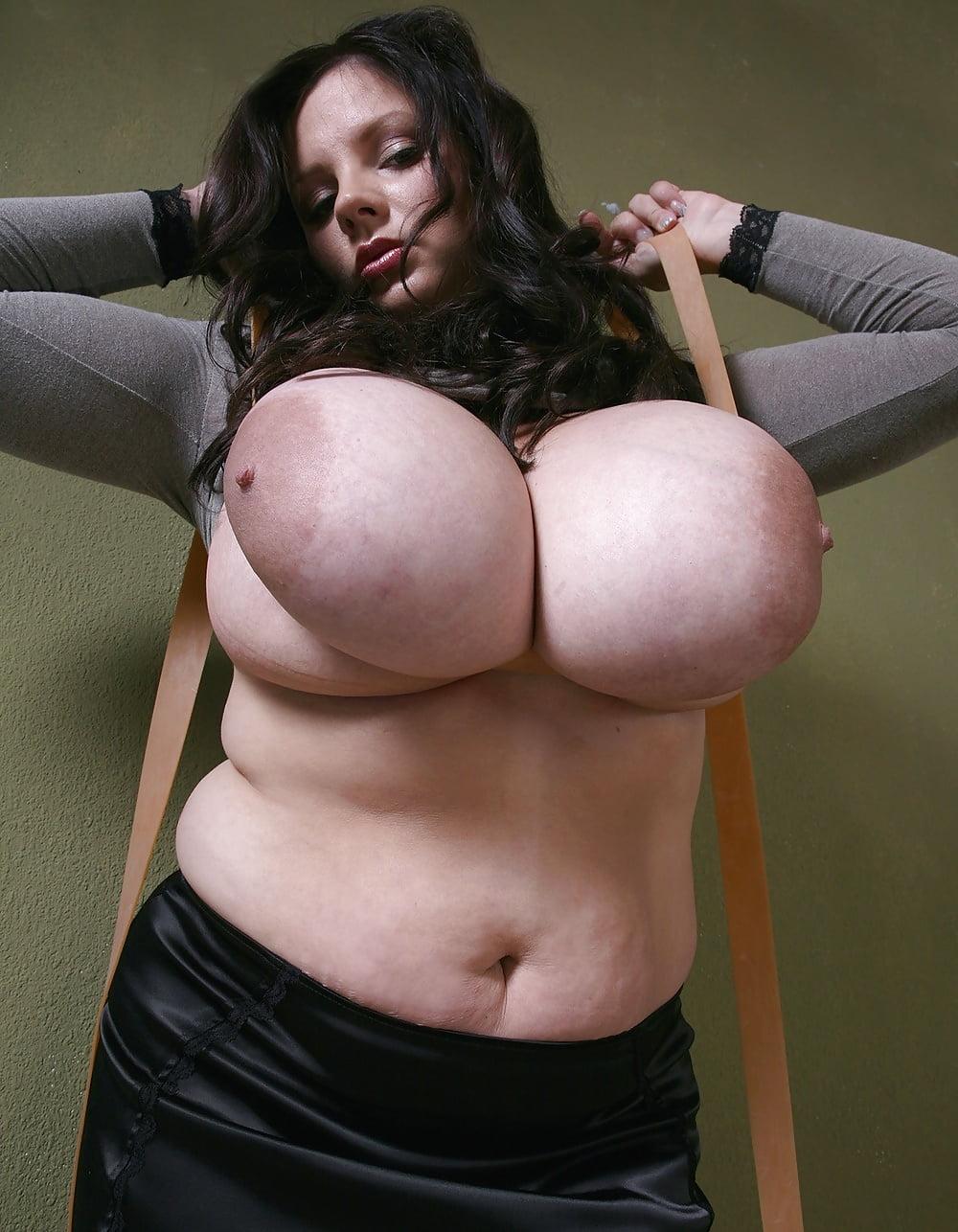 Big tits tied up