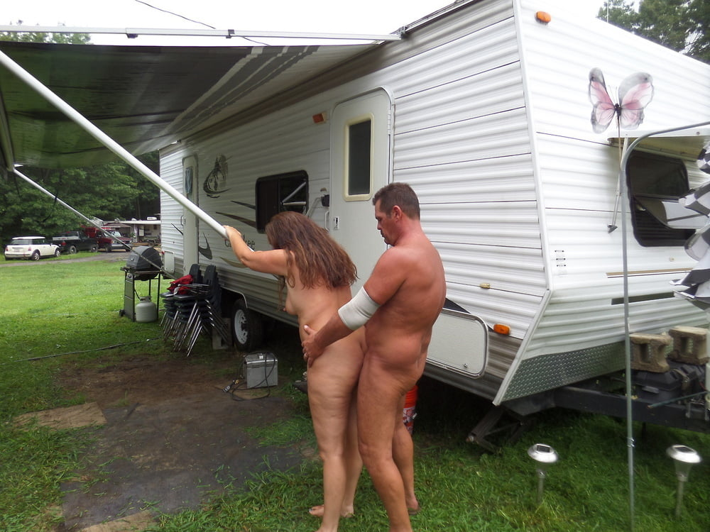 Wife group sex camping