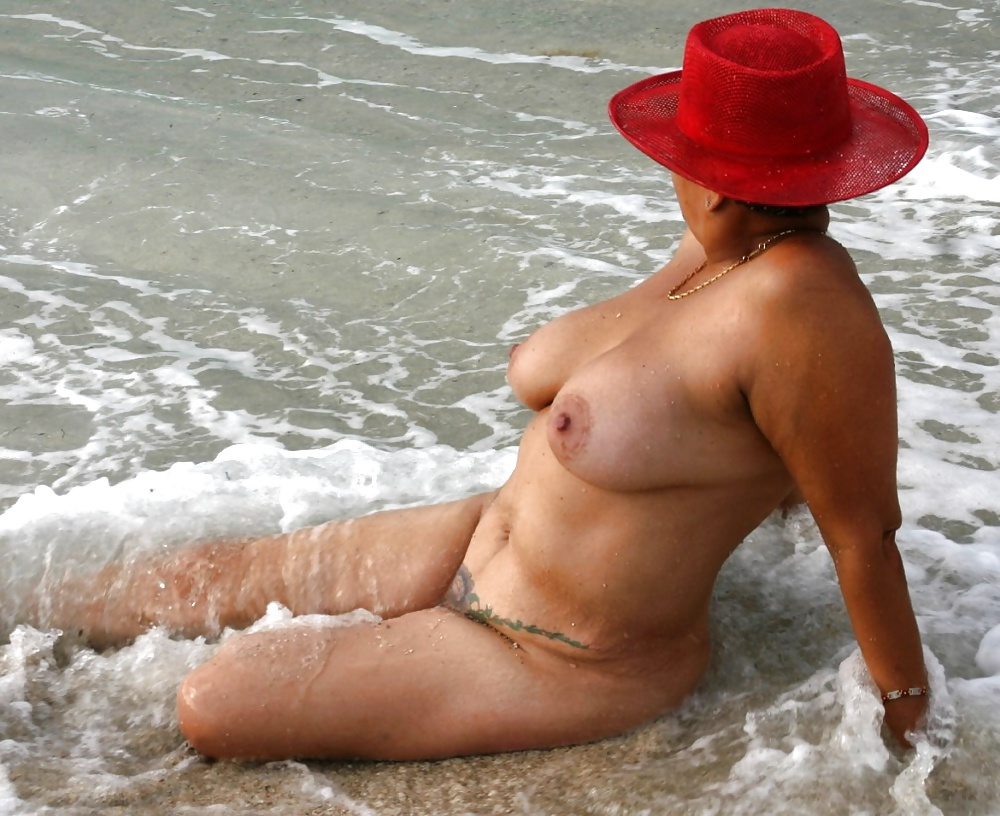 haulover beach nude woman