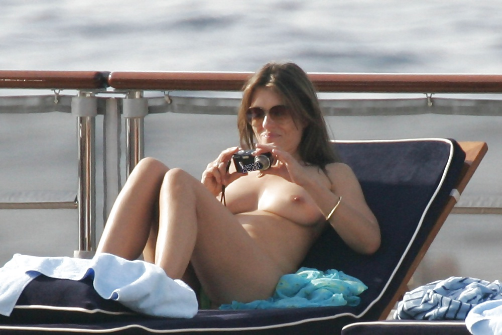 Hot Indeed Elizabeth Hurley Goes Topless While Swimming, Shares Instagram Photo