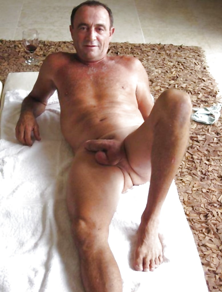Really old naked guys — 11