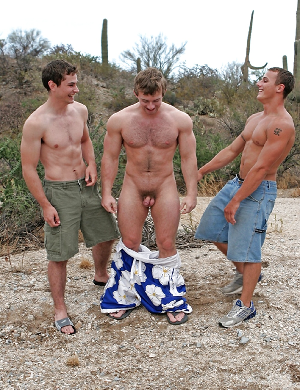 Nude Hung Straight Men