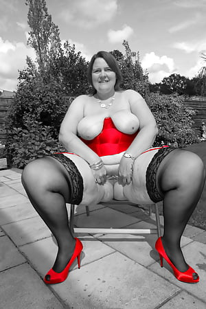 princess outside in red basque and heels last part