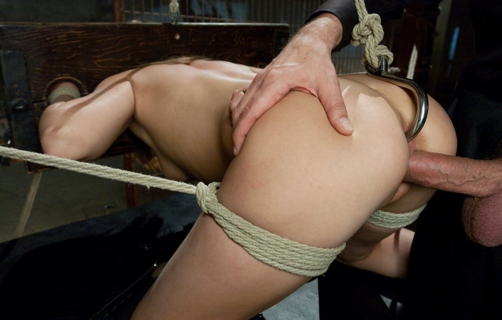 Alternative Girl Playing With Anal Hook