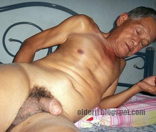 Chinese old grandpa chat sex handjob