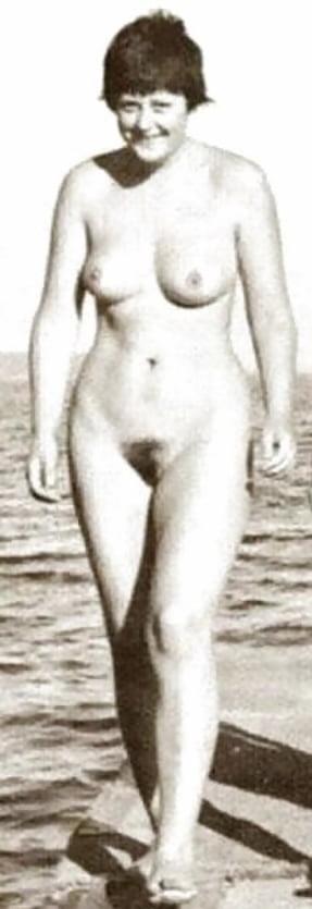 Merkel angela nackt