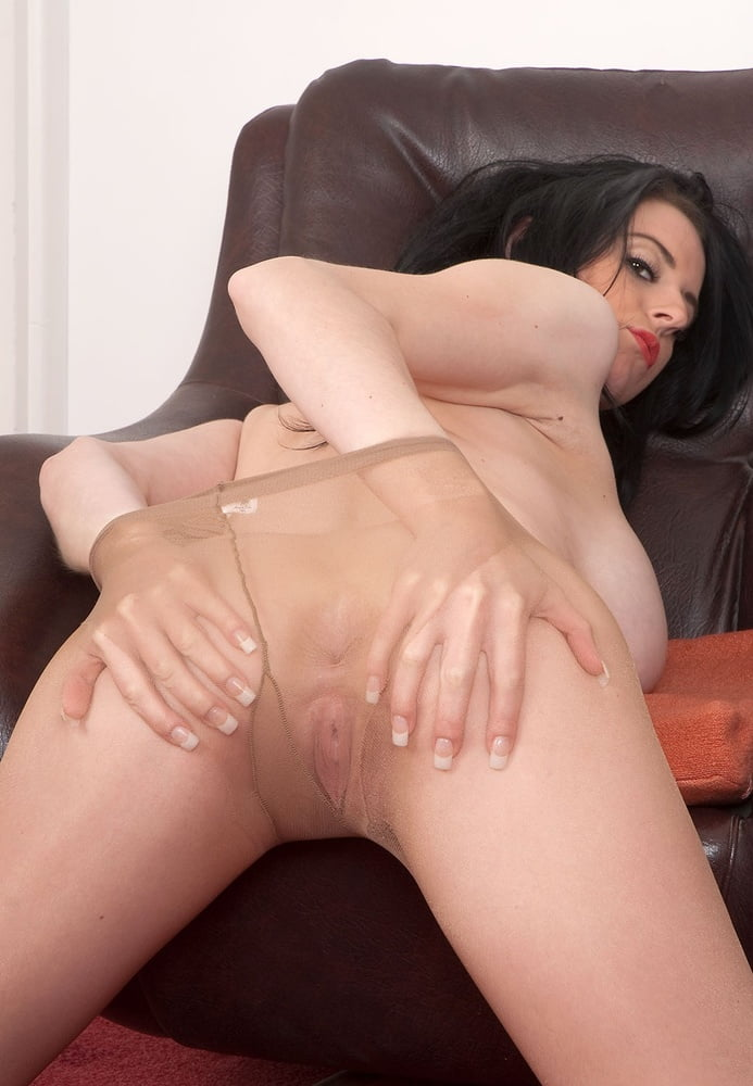 Louise Jensen Is More Than Happy To Tear Her Pantyhose Open- 69 Pics