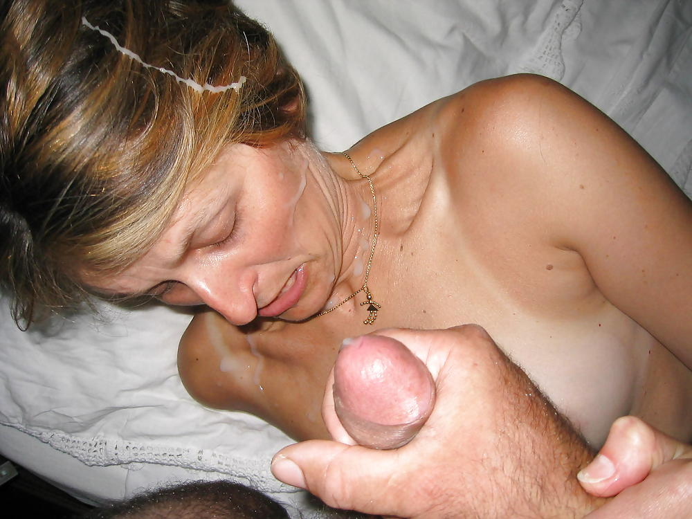 Young wife with nice ass cumshot