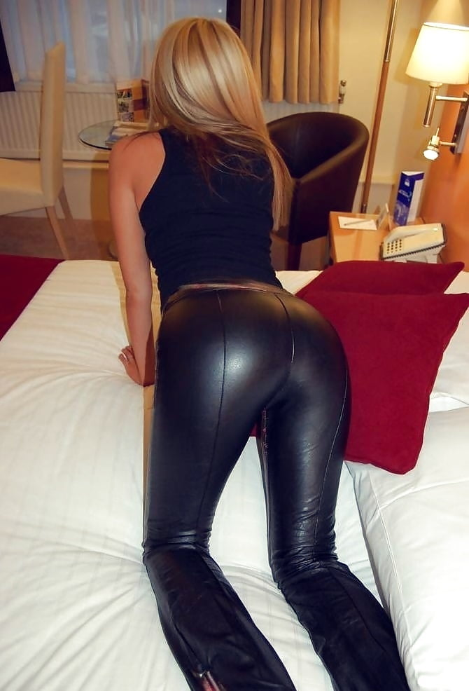 Naked in leather pants — 13
