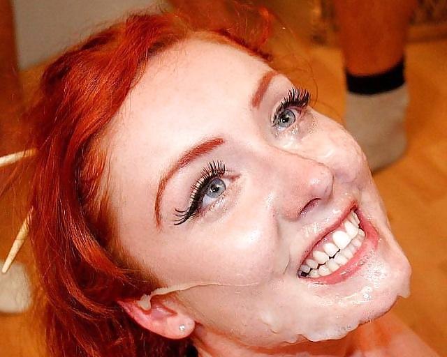 Redhead Facial Cumshot 1