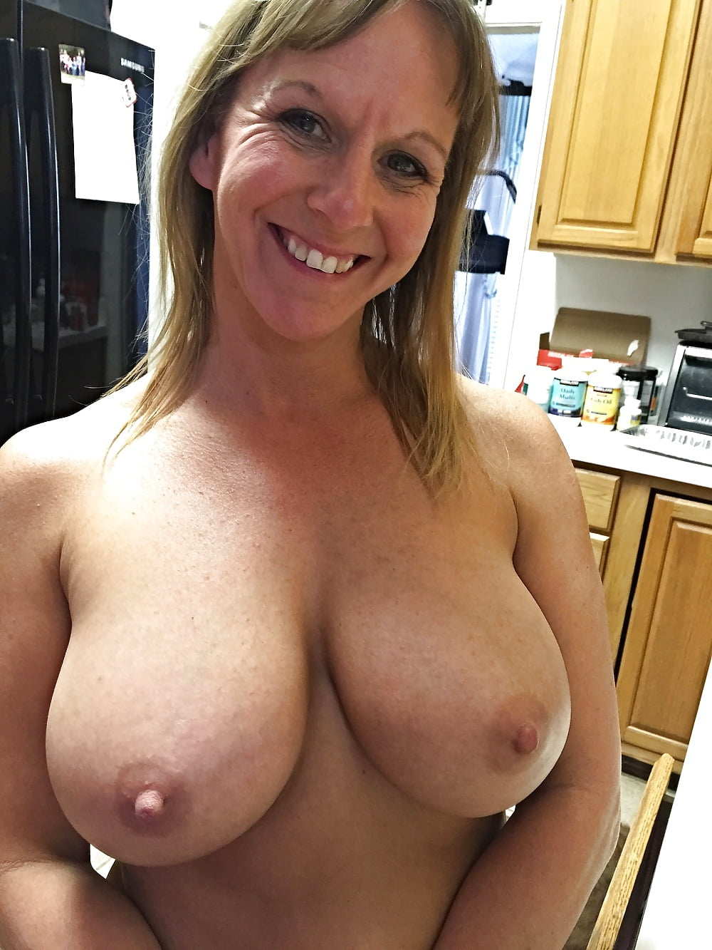 Lesbian hanging tits