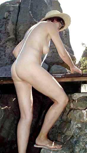 Amateure Naturtitten Latex Massage