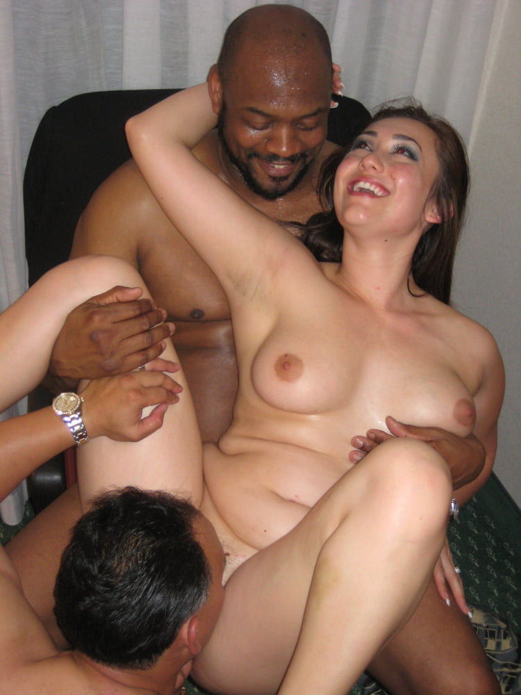 Real cuckold couple with a bbc friend