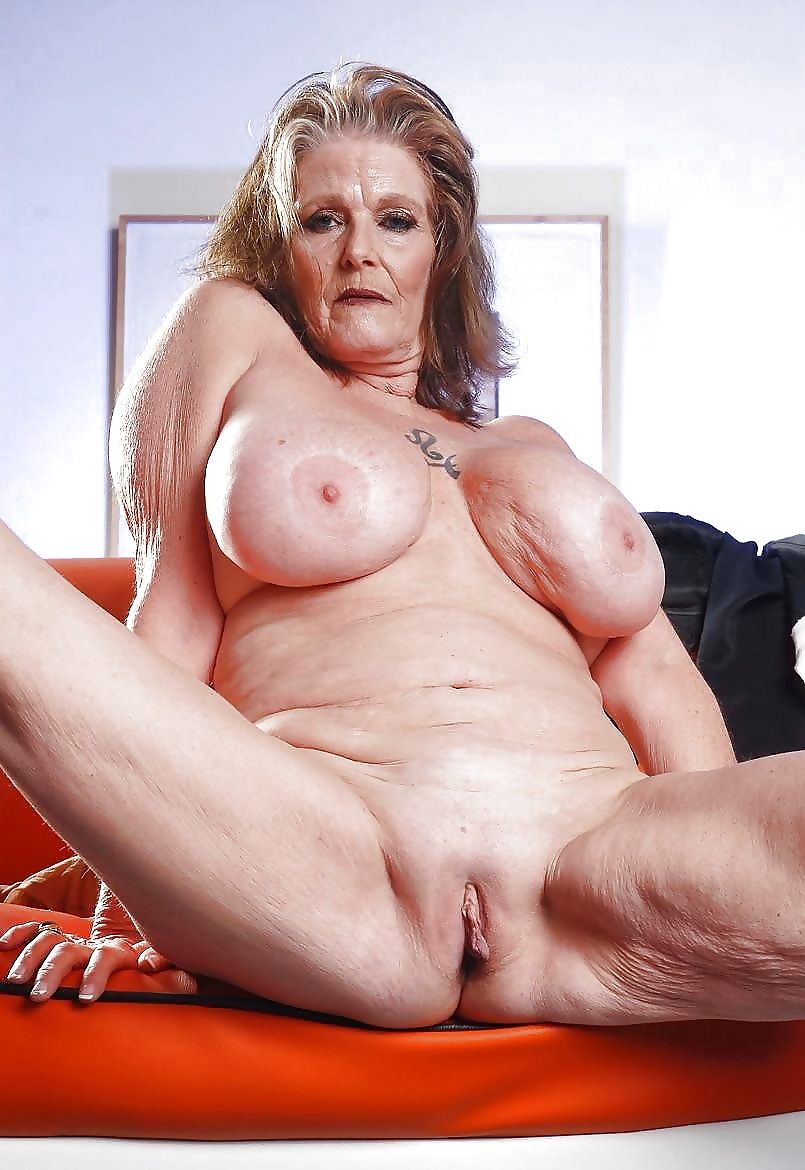 Sexy attractive older woman